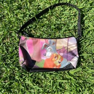 ✨💜💙 Disney's Lady and The Tramp Clutch Bag 💙💜✨